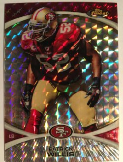 2010 Topps Finest Mosaic Refractors #94 Patrick Willis /10