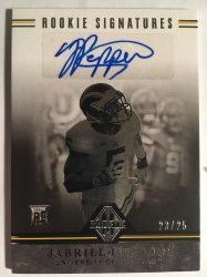 2017 Panini Majestic #160 Jabrill Peppers AU/25 RC