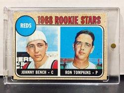1968 Topps  Johnny Bench