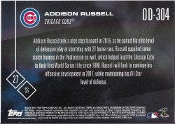 2017 Cubs Topps Now Road To Opening Day Russell