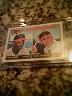 66 Topps  Dave Johnson rookie