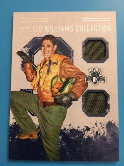 2017 Panini Diamond Kings Ted Williams Collection Memorabilia