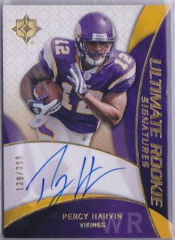 2009  Ultimate Collection AU RC Percy Harvin