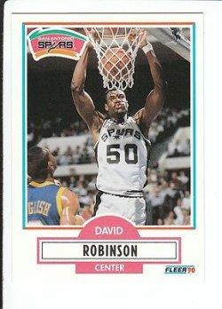 1990 Fleer  David Robinson 172