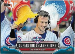 2016 Topps Opening Day Superstar Celebrations Bryant