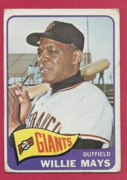 1965 Topps  willie mays