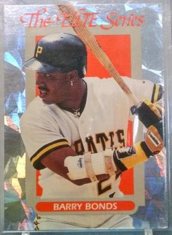 1993 Donruss  Barry Bonds elite