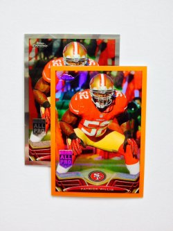 2013 Topps Chrome Retail Orange Refractor  Patrick Willis #12