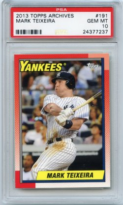 2013 Topps Archives Mark Teixeira