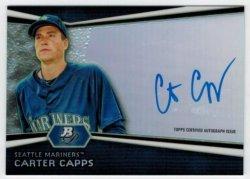 2012 Bowman Platinum Autograph Carter Capps