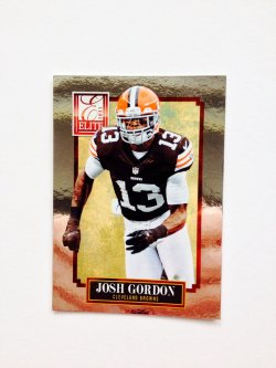 2013 Panini Elite Josh Gordon
