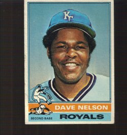 1976  Topps base Dave Nelson