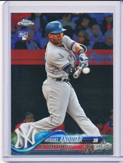 Miguel Andujar 2018 Topps Chrome Update RC