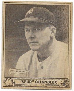 1940   Spud Chandler 1940 Play Ball 12/4/18