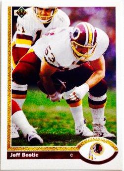 1991 Upper Deck  Jeff Bostic