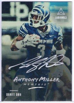 2018 Panini Luminanace Anthony Miller Draft Day Autograph Silver