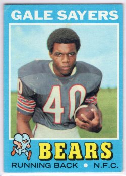 1971 Topps Topps Gale Sayers Base