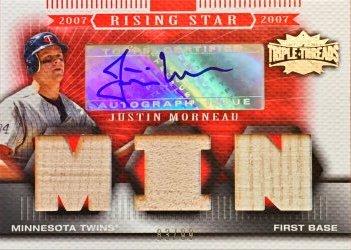 2007 Topps Triple Threads Justin Morneau