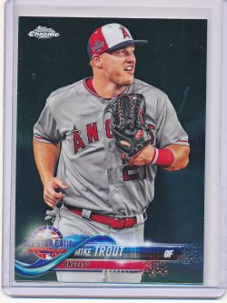 Mike Trout 2018 Topps Chrome Update