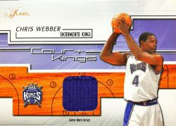 2002-03  Flair Court Kings Game Used Chris Webber