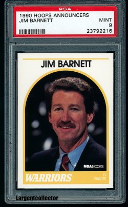 1990  Hoops Announcers Jim Barnett