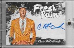 2015-16 Panini Court Kings Chris McCollough Fresh Paint Auto