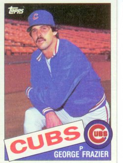 1985 Topps Topps Chewing Gum George Frazier - P