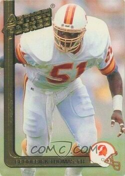 1991  Action Packed Broderick Thomas