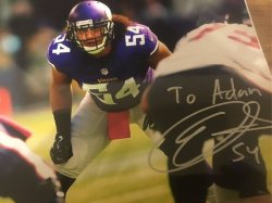 Eric Kendricks Signed Personalized 8x10