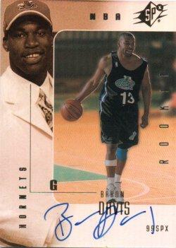 1999-00 Upper Deck SPx Davis, Baron
