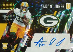 2017 Panini Unparalleled Aaron Jones RC Auto