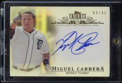 2014 Topps Tribute Miguel Cabrera