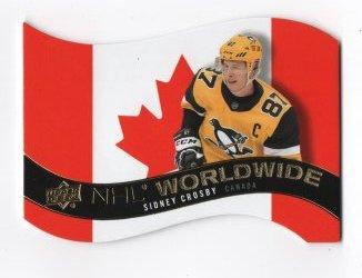 2020-21 Upper Deck NHL Worldwide Die-Cut Sidney Crosby