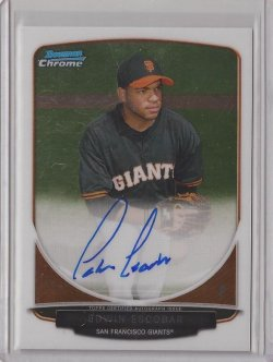 2013 Bowman Chrome  Edwin Escobar