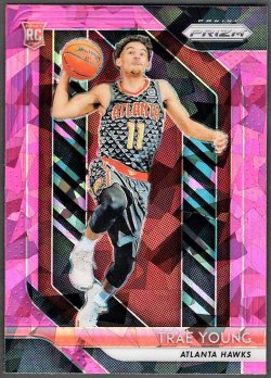 2018-19   Trae Young Prizm Pink Ice Refractor RC