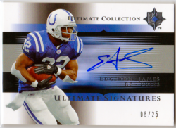 2005 Upper Deck Ultimate Collection Ultimate Signatures Edgerrin