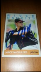 2013 Topps Heritage Minors Lance McCullers TTM Auto