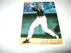 1993 Topps BOWMAN GREG BLUSSER