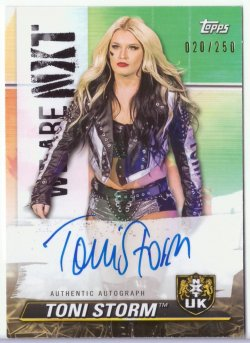 2021 Topps NXT TONI STORM