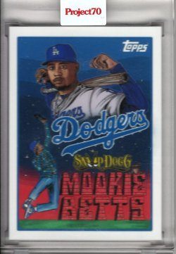 2021 Topps Project70 Mookie Betts by Snoop Dogg