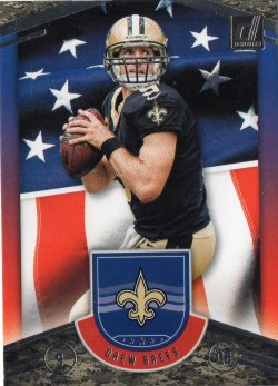 2018 Panini Donruss Glory Drew Brees