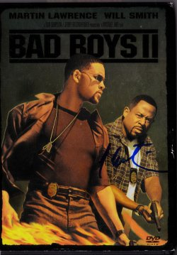 2003  Bad Boys II Movie Cover Martin Lawrence IP Autograph