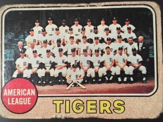 1968 Topps WORLD SERIES Champions  DETROIT TIGERS   #528