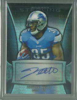2013 Bowman Sterling Joique Bell - Prism