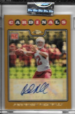 2008 Topps Chrome Gold Superfractor Rookie Autograph - Anthony Morelli