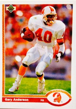 1991 Upper Deck  Gary Anderson #204