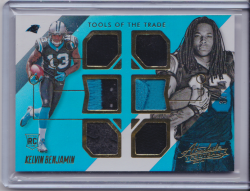 2014 Panini Absolute Tools of the Trade Complete Rookies Spectrum Gold Kelvin Benjamin