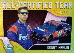 2016 Panini Certified Racing Denny Hamlin