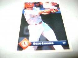 1992 Donruss LEAF OZZIE CANSECO