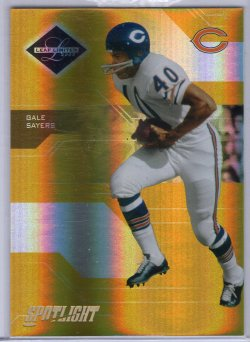 2005 Leaf Limited Gale Sayers Base Gold